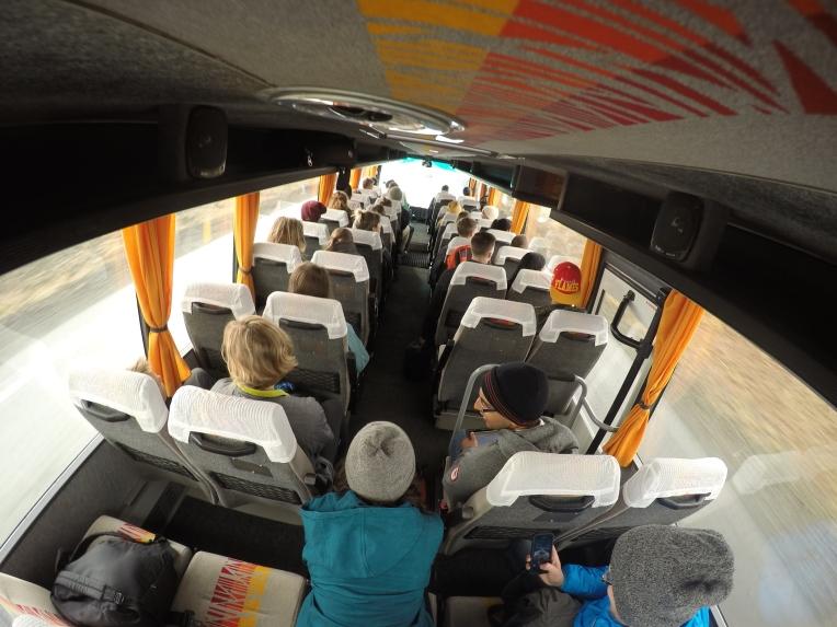 Bus rides! #gopro