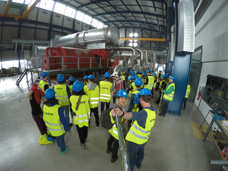 Touring the Geothermal Power Plant in Iceland #gopro