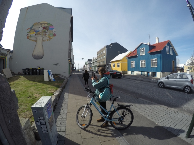 Biking through the city #gopro