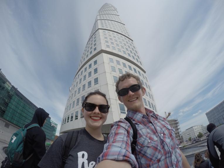 Turning Torso Selfie #gopro