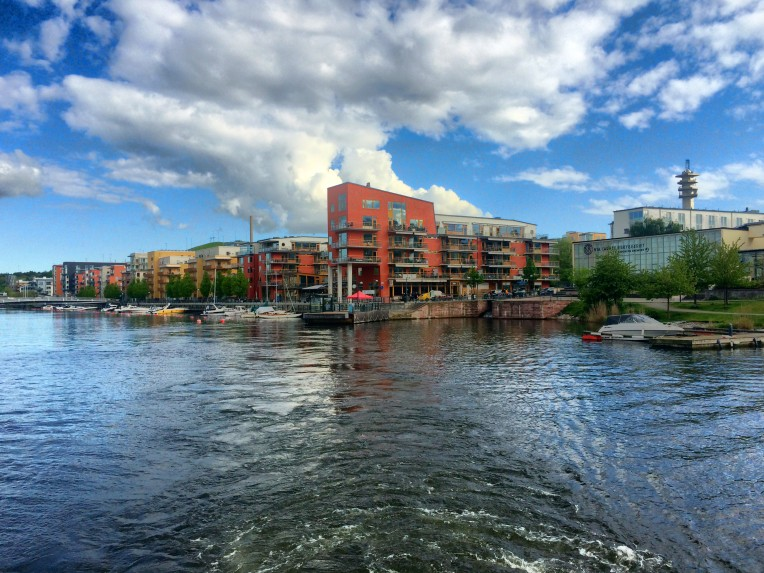 Hammarby from the water
