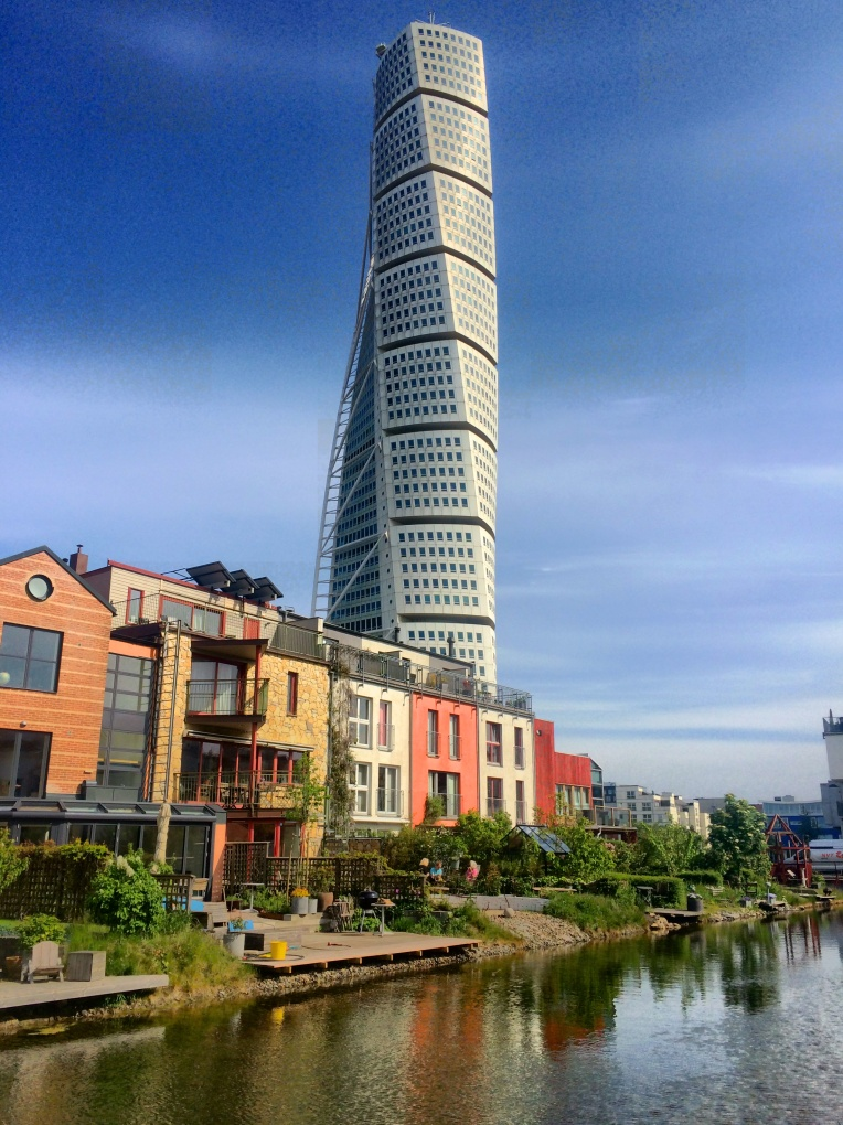 The Turning Torso is right in Western Harbour, another sustainable development
