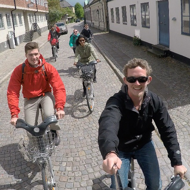 Biking around Lund #gopro