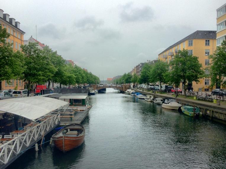 A canal in Copenhagen